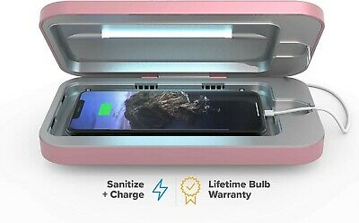 Phone Soap 3 UV Cell Phone and Other Items Disinfection in Pink Color