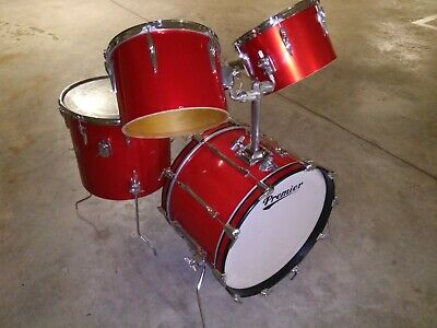 Premier Resonator Signia Snare Floabeam made in England SPANDAU BALLET DRUMMER