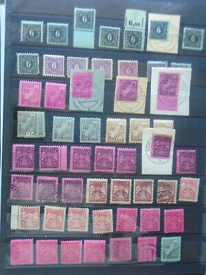 Early Lot Vf Used Vf Mlh Vf Mnh Germany Deutschland B299.33 0.99$