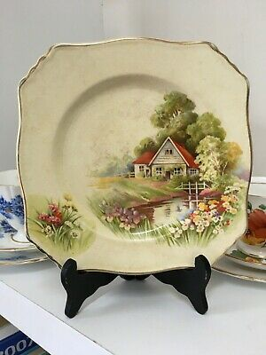 Royal Winton Grimwades Collectors Red Roof Tea Side Plate - Made In England