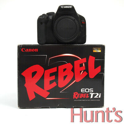 CANON EOS REBEL T2i 550D KISS X4 18.0 MP APS-C DIGITAL SLR CAMERA BODY ONLY