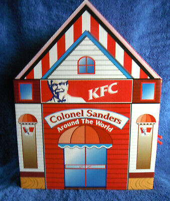 Colonel Sanders Around The World KFC 1999 Complete set of 16 & Country cards