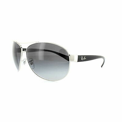 RayBan 3386 Sunglasses - Silver Black Grey Gradient - RB3386 003/8G 63-13