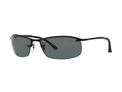 RayBan 3183 POLARIZED Sunglasses - Black Grey Gradient - RB3183 002/81 63-15