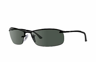 RayBan 3183 POLARIZED Sunglasses - Black Green Classic - RB3183 002/71 63-15