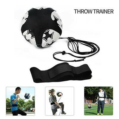 Football Self Training Kick Practice Trainer Aid Equipment Waist Belt Returner_
