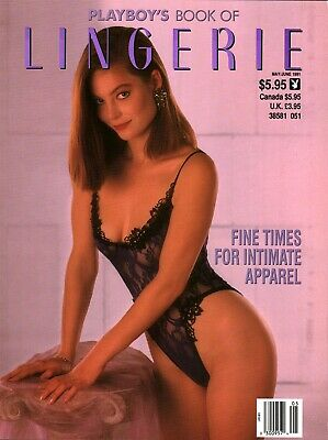 Playboy's Book Of Lingerie June 1991 Laura Richmond Renee Tenison Karen Foster