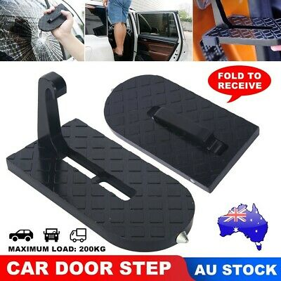 Vehicle Access Roof Of Car SUV Door Step Rooftop Doorstep Pedal Latch Hook Kits