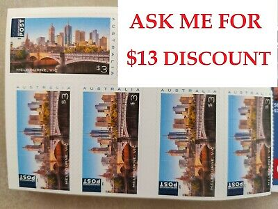 2019 AUSTRALIAN STAMPS 💌 LOCAL or INTERNATIONAL POSTAGE 🔥 Face Value $300 🔥