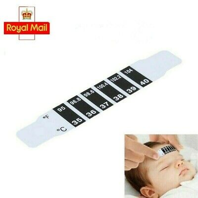 10x Forehead Thermometer Fever Scan Strip for Baby Child Adult Temperature Check