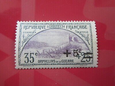 France 1922 Timbre Orphelin N=166 Neuf**.