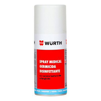 Spray Germicida Igienizzante Disinfettante Ice Wurth Per Auto E Interni