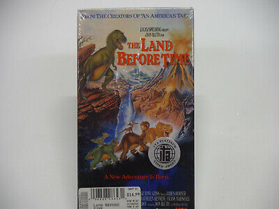 The Land Before Time (VHS, 1996) STILL SEALED!