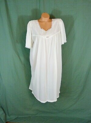 Sears Large Silky Nylon Lace Nightgown