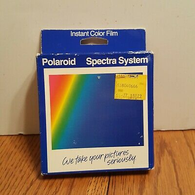 Vintage Polaroid Spectra System Instant Film NEW IN BOX EXPIRED 1989