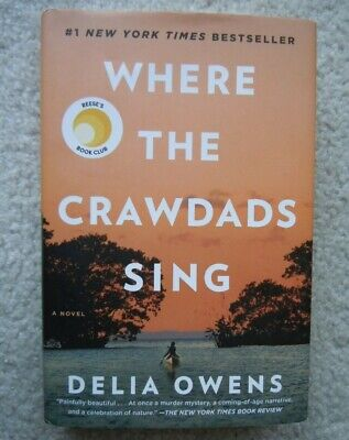 Where the Crawdads Sing by Delia Owens (Hardcover,2018) Great Condition