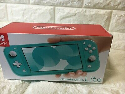 【NEW Unopend   EMS Shipping】Nintendo Switch Lite Console Turquoise Color Japan