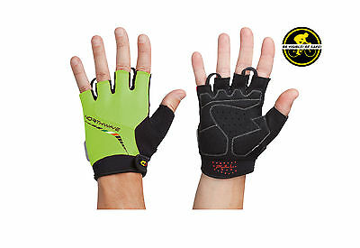 Northwave Galaxy Fingerless Cycling Gloves Yellow flourescent