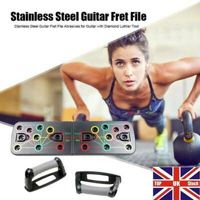 Body Building Push Up Rack Board Fitness Gym System Train Exercise Pushup Stand.