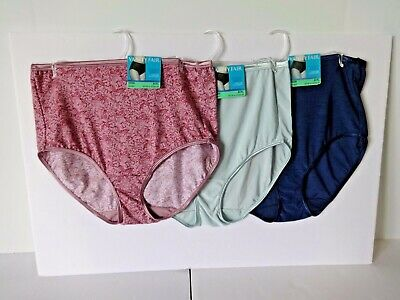 Vanity Fair illumination womens brief panties size 8/XL 3 pairs style 13109