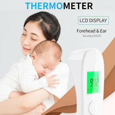 Medical Thermometer Forehead & Ear Baby Adult Kids Infrared Digital