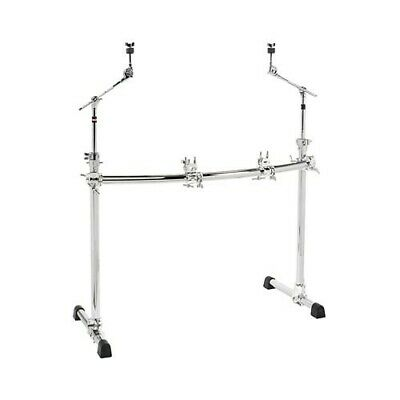 NEW - Gibraltar Chrome Series Curved Front Rack System W/ Cymbal Booms, #GCS302C