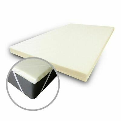 "Orthopaedic Memory Foam Mattress Topper 4"" Thick With or without Cover king size"