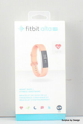 *NEW SEALED* Fitbit Alta HR Fitness Tracker / Coral / Small