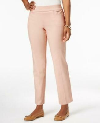 Jm Collection Pull-On Slim-Leg Pants Casabella Size Small S