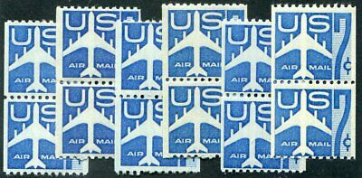 US  C52  ( 6 ) Beautiful  Mint  NEVER  Hinged  PAIRS  UPTOWN