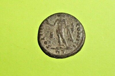 Constantine I 306 AD ancient ROMAN COIN sol sun god globe antique old VG-VF find