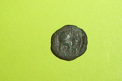 Orthagoreia Macedonia 400 BC ancient GREEK COIN macedonian helmet apollo old G