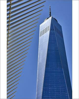 "10""x8"" (25x20cm) Print One World Trade Center in New York City, N..."