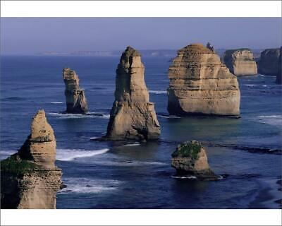 "10""x8"" (25x20cm) Print of 12 Apostles, Port Campbell Nat L Park from"