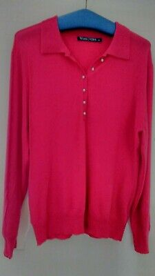 New - Made by Woolovers - Quality Merino Wool & Cashmere Jumper  - Size XL
