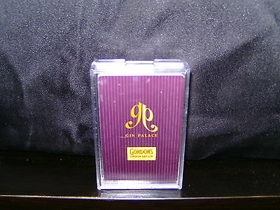 Gordons - Gin Palace - Playing Cards In Plastic Case. As New