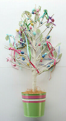 Pottery Barn Kids Sparkle Egg Tree Easter PB Pastel Decoration Decor Holiday