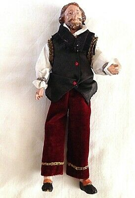 Antique French composition man male doll Doll House Figure