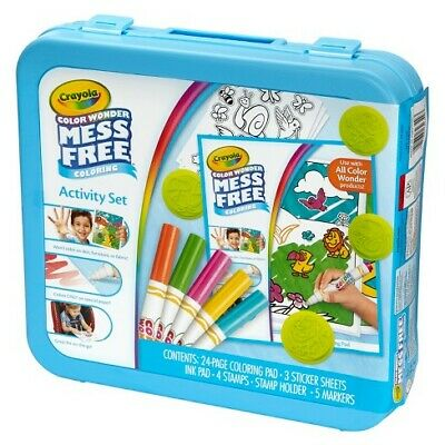 Crayola Color Colour Wonder Mess Free Activity Set **New & Sealed**