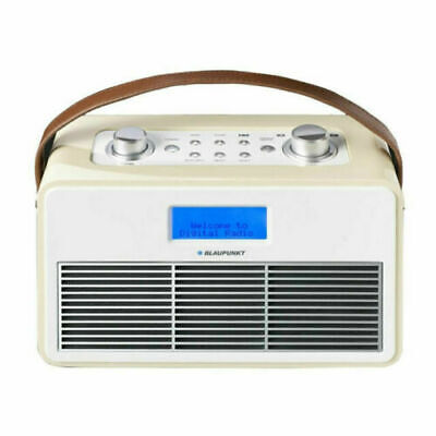 Blaupunkt DAB+/FM Bluetooth Radio BPR-3 White / Cream Retro **New**