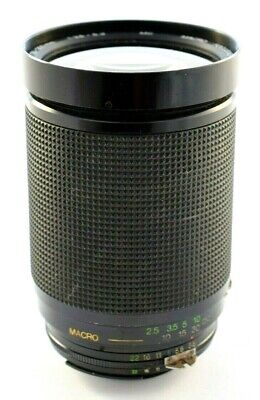 Nikon Vivitar 28-200mm f1:3.5-5.3 Macro Focusing Zoom Lens AI-S fit      #S1-289