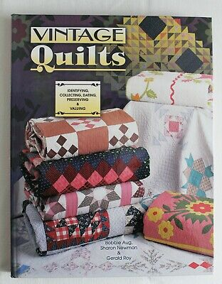 VINTAGE QUILTS Identification & Price Guide BOOK Bobbie Aug NEW