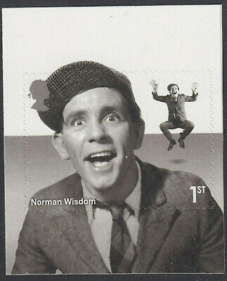 GB 2015 COMEDY GREATS NORMAN WISDOM S/A 1st CLASS BOOKLET STAMP MNH From PM47