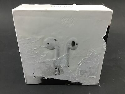 *Heavy Use* Apple 2nd Generation AirPods with Charging Case White MV7N2AM/A