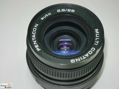 M-42 Pentacon-Auto 2,8/29mm Grand Angle Multicouches Objectif Standard Lens M42