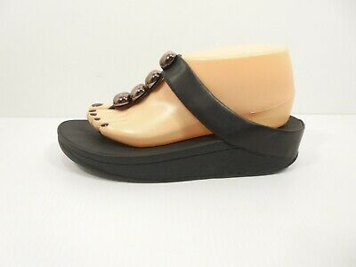 FREE SHIP! Womens FITFLOP ROLA Thong Style Sandals - Shoe Size US 8 M