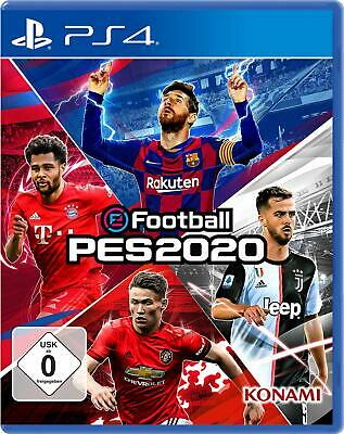 Efootball Pes 2020 PS4 New+Boxed