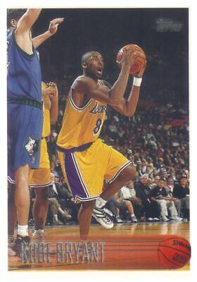 1996-97 TOPPS Rookie KOBE BRYANT #138 Los Angeles Lakers RC HOF Black Mamba