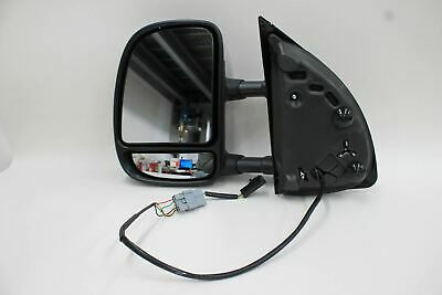Power Heated Telescoping Left Side Car Mirror For 1999-07 Ford F-250 Truck NEW
