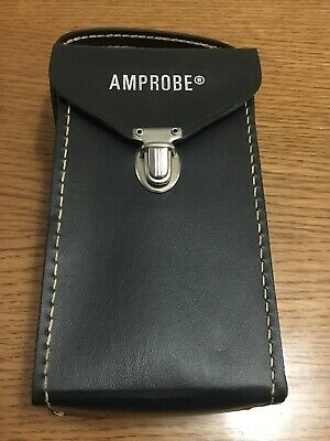 Vintage Amprobe RS-3 Analog Clamp Meter w/Case & Leads~Amps/Ohms/Volts Tester